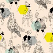 Bird Boys (Dusk)