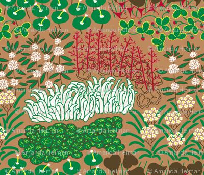 California Native Herb Garden