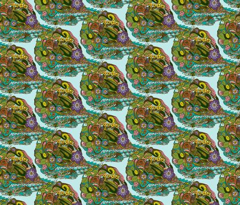 Fantastic Tropical Herbs - Small fabric by rhondadesigns on Spoonflower - custom fabric