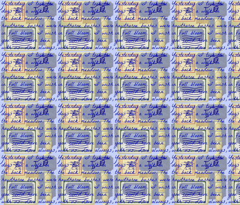 Yesterday fabric by robin_rice on Spoonflower - custom fabric