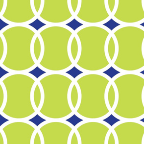 Tennis Ball Geometric