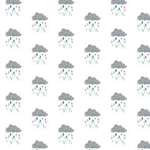 Colorful Raincloud