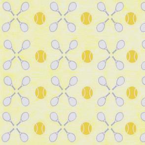 geo tennis yellow