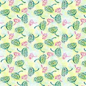 Herbal batik #3 retro