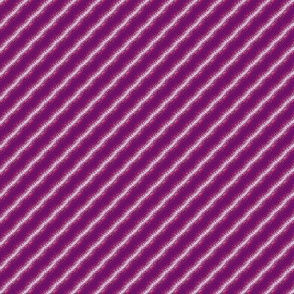 Purple speckled stripe