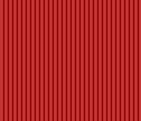 Red Multi Stripe fabric by modernfox on Spoonflower - custom fabric