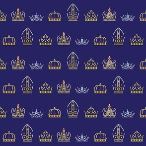 Royalty: Crowns ABCDE Rows