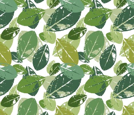 foliage fabric by tofutyklein on Spoonflower - custom fabric