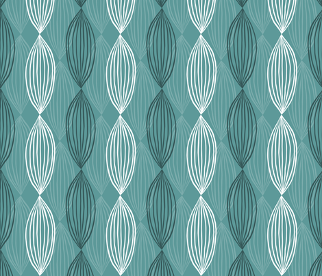 abstract hand drawn pattern fabric by tofutyklein on Spoonflower - custom fabric