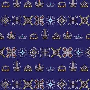 Royalty: Mixed ABCDE Rows