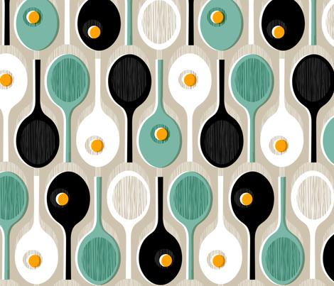 Racquets fabric by mariaspeyer on Spoonflower - custom fabric
