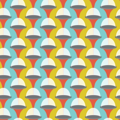 domes fabric by jillbyers on Spoonflower - custom fabric