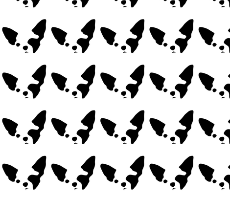 dog chihuahua small in a row fabric by mariafaithgarcia on Spoonflower - custom fabric