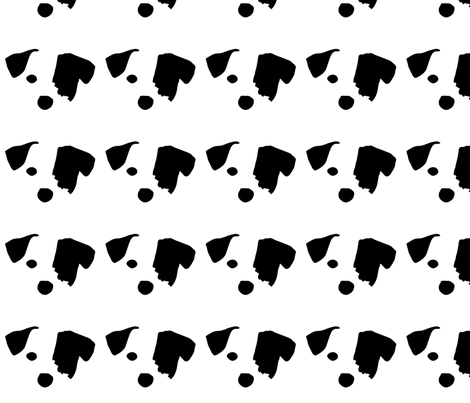 dog jack russel terrier small in a row fabric by mariafaithgarcia on Spoonflower - custom fabric