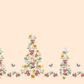 Small Cinderella floral border