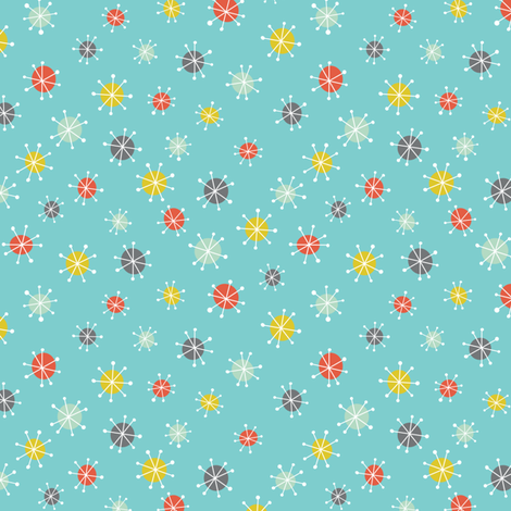 Cosmic stars fabric jillbyers spoonflower for Cosmic print fabric