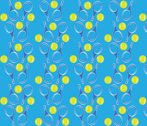Play ball fabric by cherrypye on Spoonflower - custom fabric