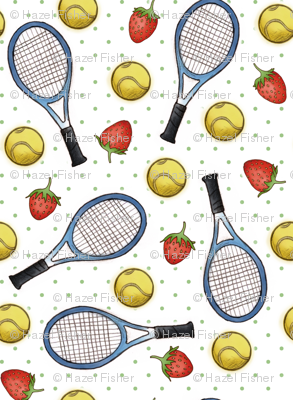 Tennis and Strawberries