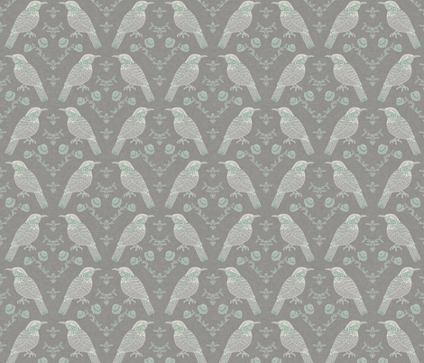 wren_faded fabric by holli_zollinger on Spoonflower - custom fabric