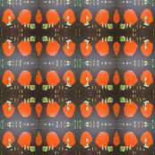 Orange Poncho II