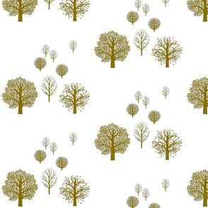 forest scape khaki