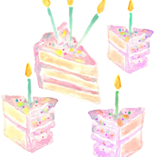 birthday cake mini