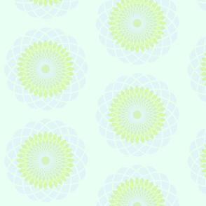 pale aqua spiro