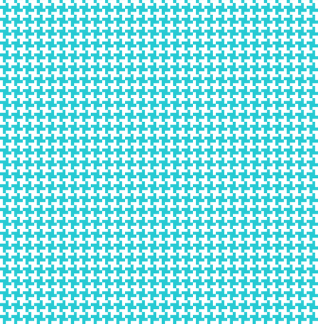 Houndstooth ultraviolet geometric midcentury modern for Modern kids fabric