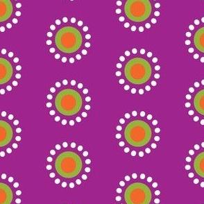 Isabel's Dream Dots - Plum Purple