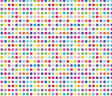 Colourful Dots fabric by ornaart on Spoonflower - custom fabric