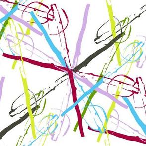 A Scattering of Walking Sticks