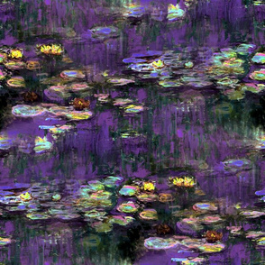 Claude Monet ~ Waterlilies ~ Twilight