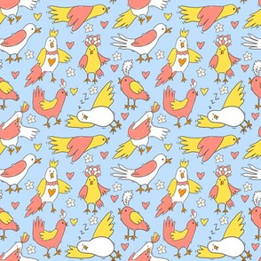 Funny little birds