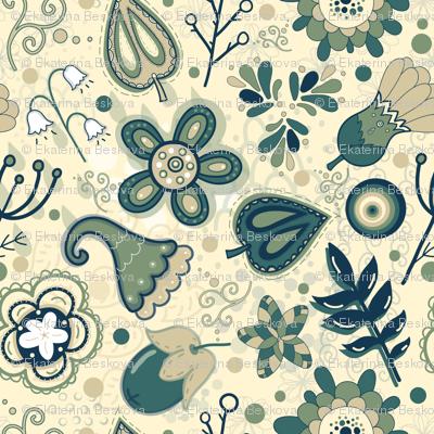 Magic herb garden