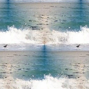 Seabird, tiled