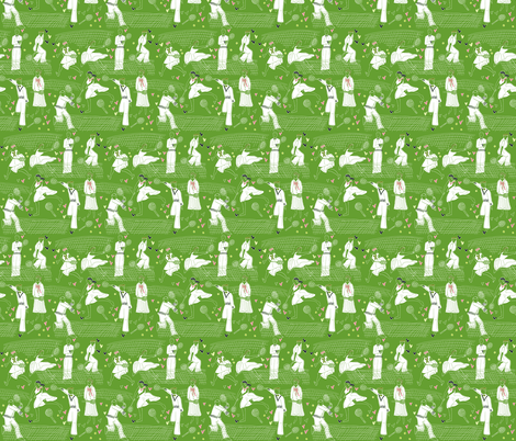 Love and War fabric by graceful on Spoonflower - custom fabric