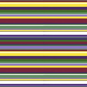 Purple flower stripe