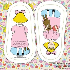 Little Lottie cut and sew doll in pink