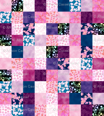 Sweet Sakura Patchwork