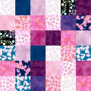 Sweet Sakura Patchwork