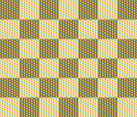pencil crayon check fabric by amyjeanne_wpg on Spoonflower - custom fabric