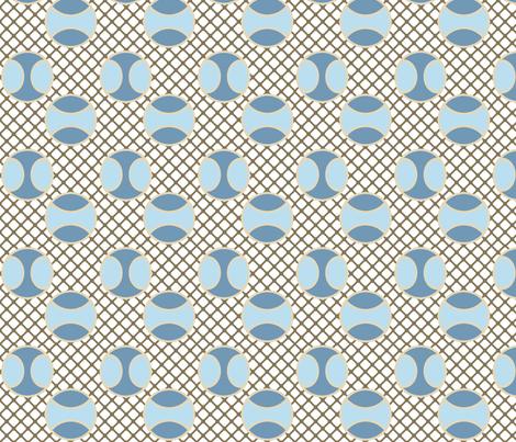 TennisInWinter fabric by grannynan on Spoonflower - custom fabric