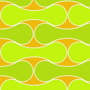 Tessellated Tennis Balls citrus