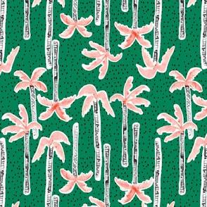 Tropicana Palms (emerald) SMALL (emerald)