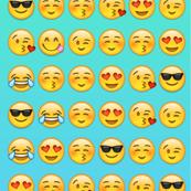 Emoji wallpaper corndog princess spoonflower for Emoji fabric