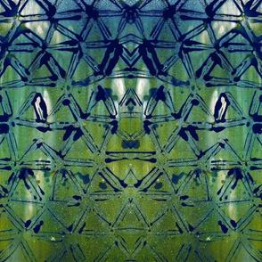 Triangle Chem Gram Print