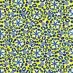 Herbal batik #4 yellow