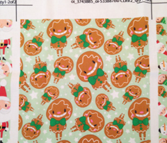 Christmas Crew - Gingerbread Man - Green - Medium