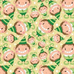 Christmas Crew - Elf - Yellow - Medium
