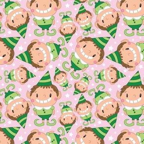 Christmas Crew - Elf - Pink - Medium